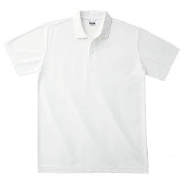 カジュアルポロシャツ001.ホワイト