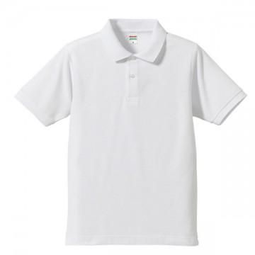 ドライカノコポロシャツ001.ホワイト