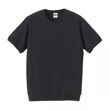 スーパーヘビーウェイトTシャツ(サイドパネル)002.ブラック