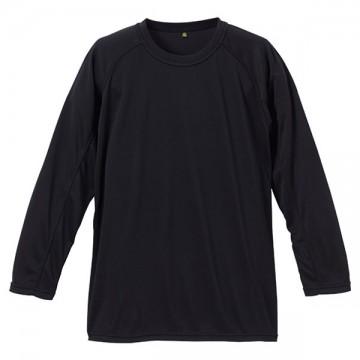 クールナイス長袖Tシャツ002.ブラック