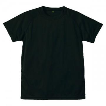 クールナイス半袖Tシャツ002.ブラック