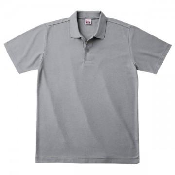 カジュアルポロシャツ002.グレー