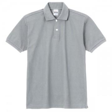 スタンダードポロシャツ002.グレー