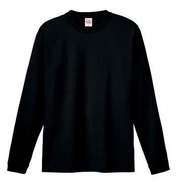 ハイグレードロングTシャツ005.ブラック