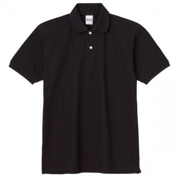 スタンダードポロシャツ005.ブラック