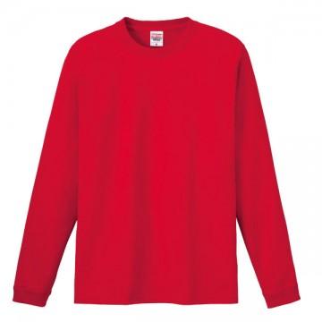 ハイグレードロングTシャツ010.レッド