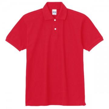 スタンダードポロシャツ010.レッド