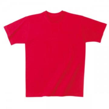 日本製Tシャツ010.レッド