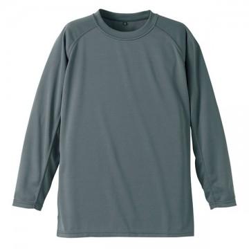 クールナイス長袖Tシャツ013.グレー