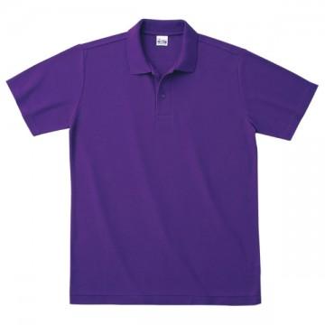 カジュアルポロシャツ014.パープル