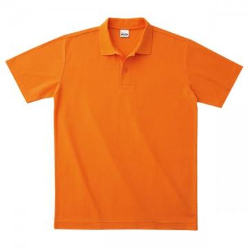 カジュアルポロシャツ015.オレンジ