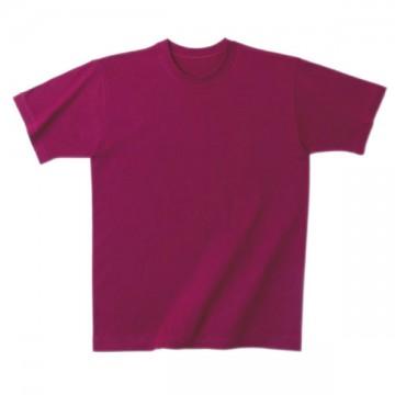 日本製Tシャツ016.ワインレッド