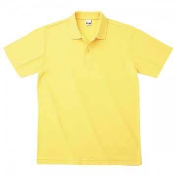 カジュアルポロシャツ020.イエロー