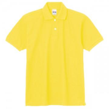 スタンダードポロシャツ020.イエロー