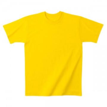 日本製Tシャツ020.イエロー