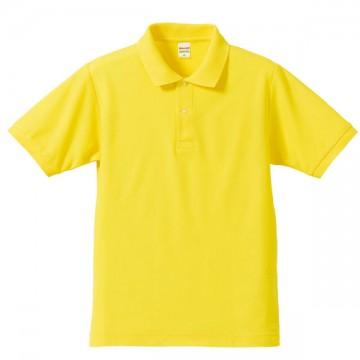ドライカノコポロシャツ021.イエロー