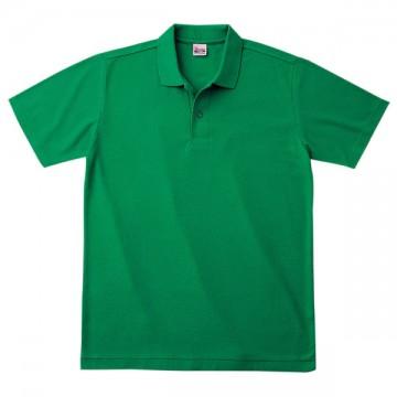 カジュアルポロシャツ025.グリーン