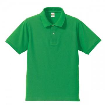 ドライカノコポロシャツ025.ブライトグリーン