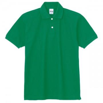 スタンダードポロシャツ025.グリーン