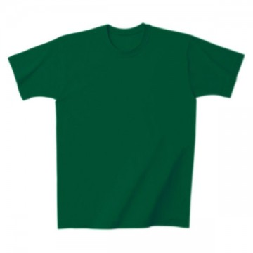 日本製Tシャツ025.グリーン
