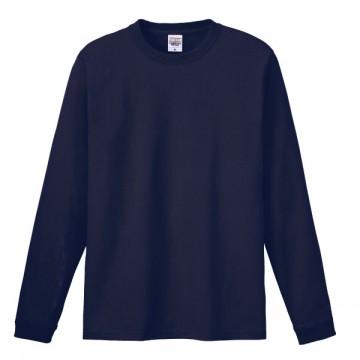 ハイグレードロングTシャツ031.ネイビー