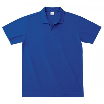 スタンダードポロシャツ032.ロイヤルブルー
