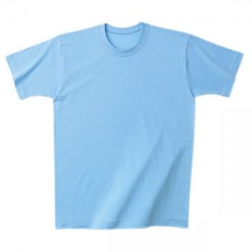 日本製Tシャツ033.サックス