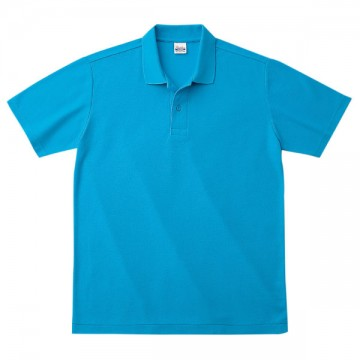 カジュアルポロシャツ034.ターコイズ
