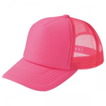 ネオンメッシュキャップ049.蛍光ピンク
