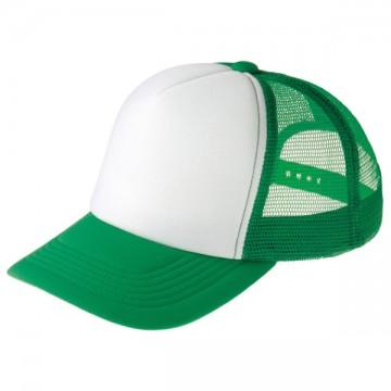 イベントメッシュキャップ063.グリーン×ホワイト