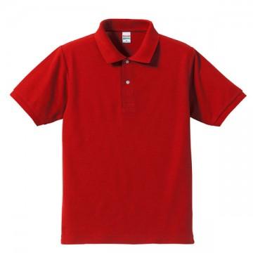 ドライカノコポロシャツ069.レッド