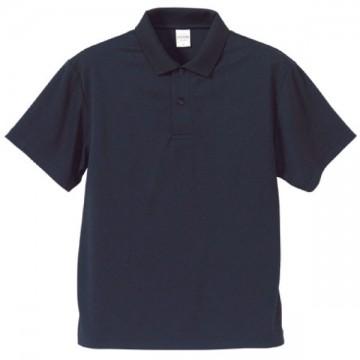 ドライアスレチックポロシャツ086.ネイビー