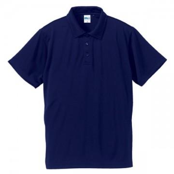 ドライシルキータッチポロシャツ086.ネイビー