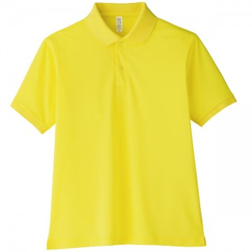 【SALE】ベーシックドライポロシャツ10.イエロー