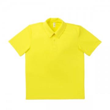 ドライポロシャツ 10.イエロー