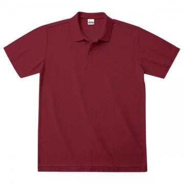 カジュアルポロシャツ112.バーガンディ