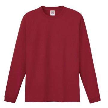 ハイグレードロングTシャツ112.バーガンディ