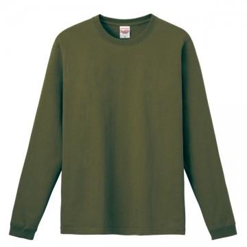 ハイグレードロングTシャツ128.オリーブ