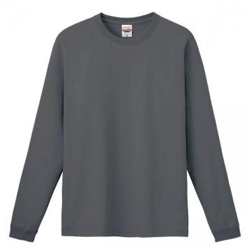 ハイグレードロングTシャツ129.チャコール
