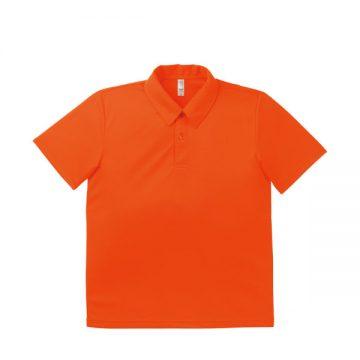 ドライポロシャツ 13.オレンジ