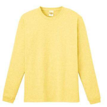 ハイグレードロングTシャツ134.ライトイエロー