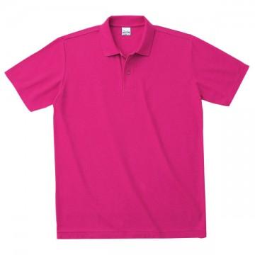 カジュアルポロシャツ146.ホットピンク