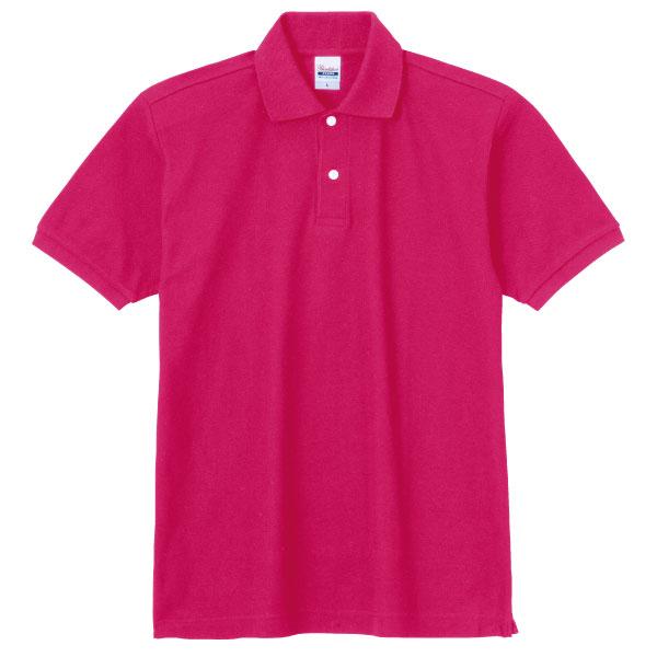 スタンダードポロシャツ223ホットピンク