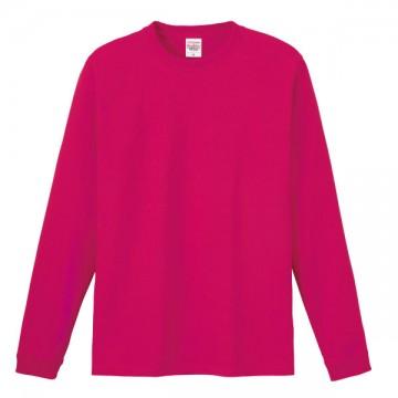 ハイグレードロングTシャツ146.ホットピンク