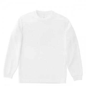 ドライロングスリーブTシャツ15.ホワイト