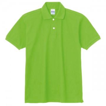 スタンダードポロシャツ155.ライム