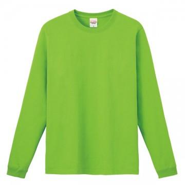ハイグレードロングTシャツ155.ライム