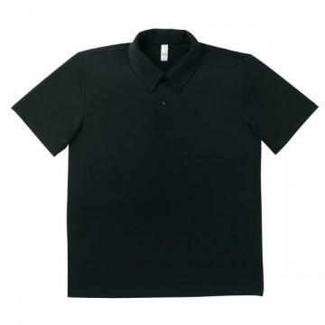 ドライポロシャツ 16.ブラック