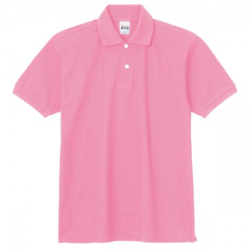 スタンダードポロシャツ181.コーラルピンク