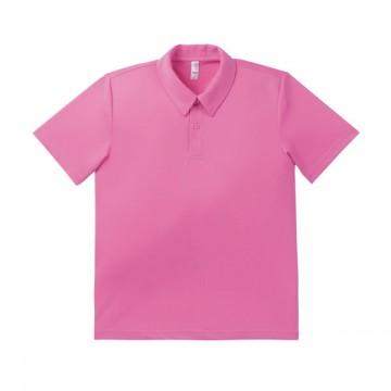 ドライポロシャツ 19.ライトピンク
